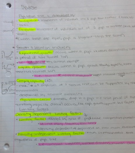 highlighted-notes