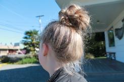 haha I loved my messy bun :)