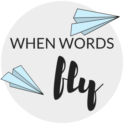 when words fly button